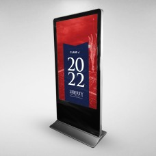 FREE STANDING LCD ADVERTISING DISPLAYS - 65""