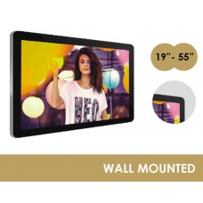 "WALL MOUNTED LCD ADVERTISING DISPLAYS - 19""- 55"""