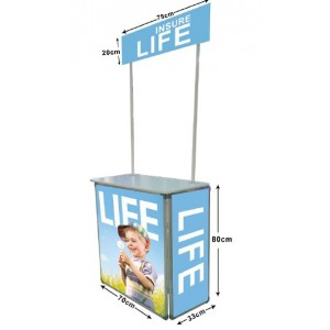 PORTABLE PROMOTIONAL TABLE
