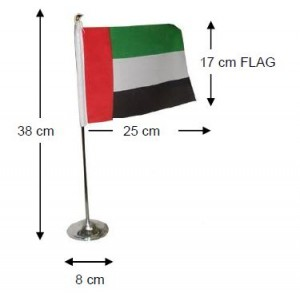 FLAG WITH STANDS