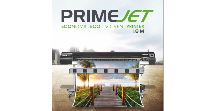 Prime Jet 1.8 mtr eco Solvent printer