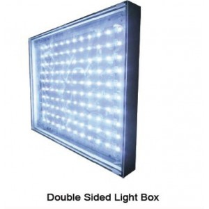 Double Sided Fabric Tensioning Light Box